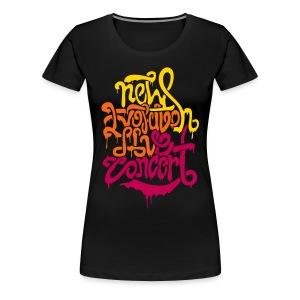 [2NE1] New Evolution Concert - Women's Premium T-Shirt