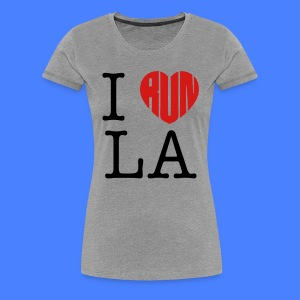 I Run LA Women's T-Shirts - stayflyclothing.com - Women's Premium T-Shirt