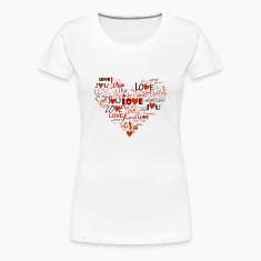Love Heart Women's T-Shirts