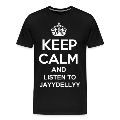 Listen to JayyDellyy - Men's Premium T-Shirt