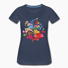 Colorful Art Women's T-Shirts