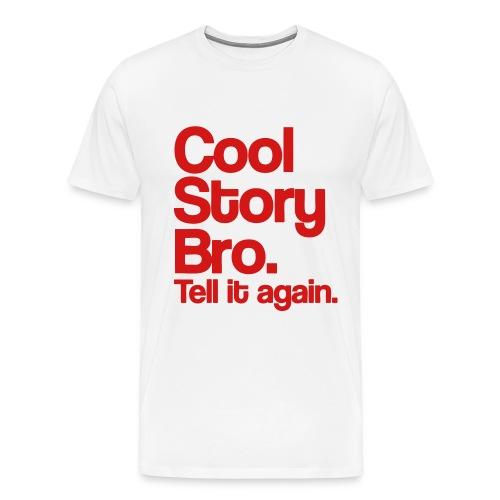 Cool story Bro  - Men's Premium T-Shirt