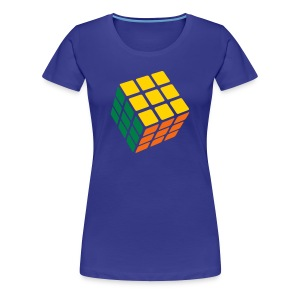 3 Color Cube - Women's Premium T-Shirt
