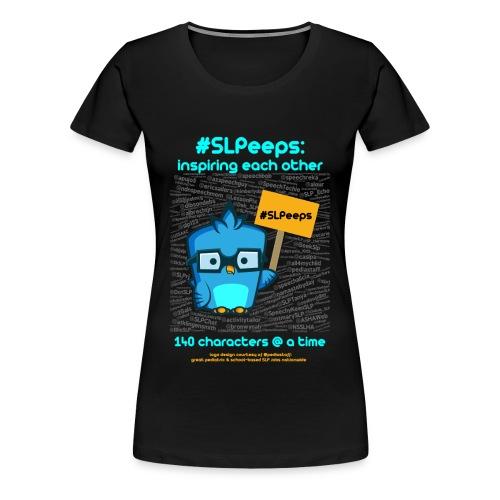#SLPeeps Black Womens T - Women's Premium T-Shirt