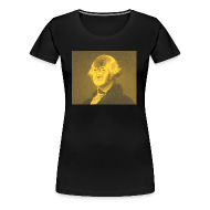 T-Shirts ~ Women's Premium T-Shirt ~ George Washington - Presidents of The United States