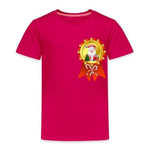 Christmas Rosette  - Toddler Premium T-Shirt