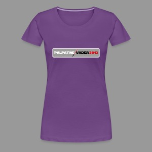 Palpatine/Vader 2012 v1 Ladies - Women's Premium T-Shirt