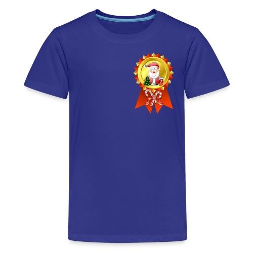 Christmase Rosette  - Kids' Premium T-Shirt