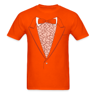 T-Shirts ~ Men's T-Shirt ~ Lloyd Orange Tux