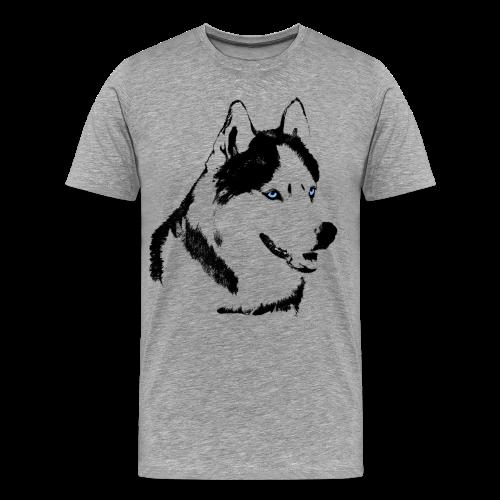 Men's 3XL 4XL Husky T-shirts Siberian Husky Shirts XXXXL - Men's Premium T-Shirt