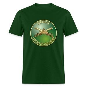 Armor Branch Plaque - Men's T-Shirt