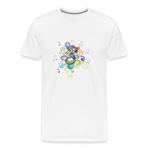 Music in the air - Men's Premium T-Shirt