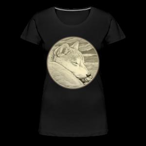 Shiba Inu Shirts Plus Size Shiba Inu Art Shirts - Women's Premium T-Shirt
