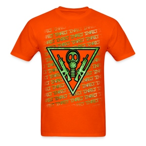 ORANGE MATRIX SHIRT  - Men's T-Shirt