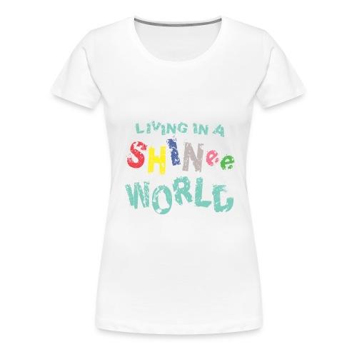 SHINee World (Women) - Women's Premium T-Shirt