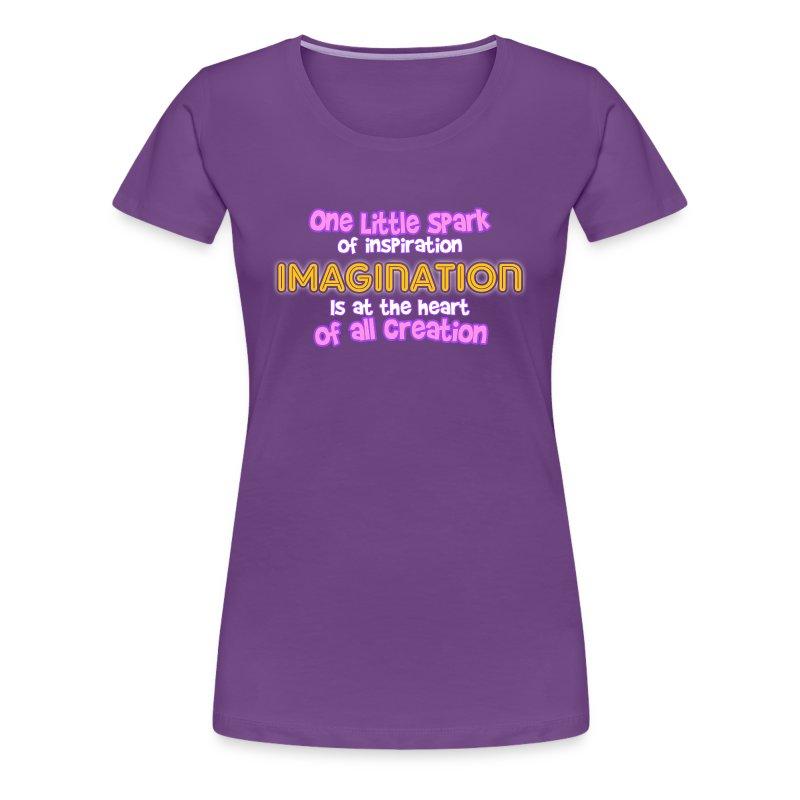 Imagination  - Women's Premium T-Shirt