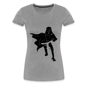 Vader on Bike - Women's Premium T-Shirt