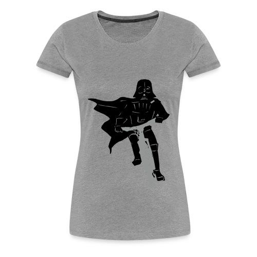 Vader on Bike - Women's Premium T-Shirt