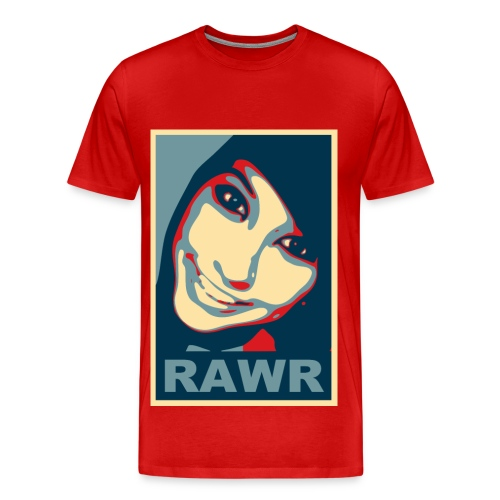 Rawr status - Men's Premium T-Shirt