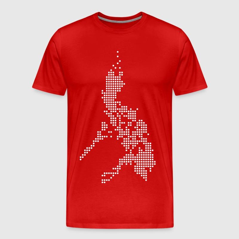 Philippines Digital Map T Shirt Spreadshirt