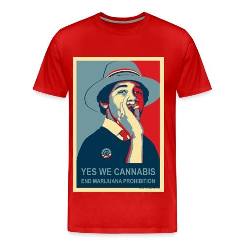 Yes We Cannabis - Men's Premium T-Shirt