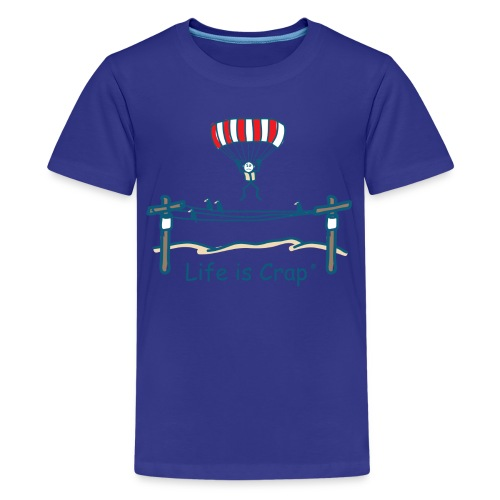 Parachute Power Line - Kids T-shirt - Kids' Premium T-Shirt