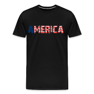 T-Shirts ~ Men's Premium T-Shirt ~ America T Shirt