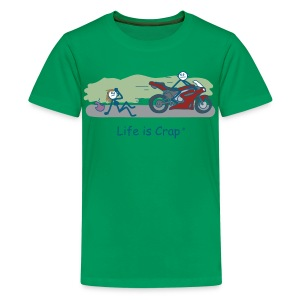 Biker Dude - Kids' Premium T-Shirt