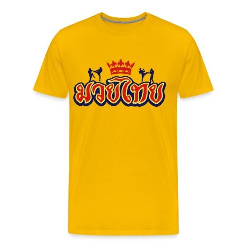 Muay-Thai - Men's Premium T-Shirt