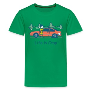 Flat Tire - Kids' Premium T-Shirt