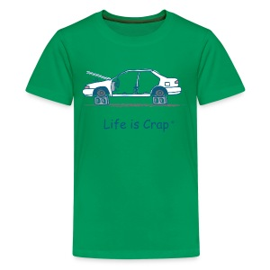 Car on Blocks  - Kids' Premium T-Shirt