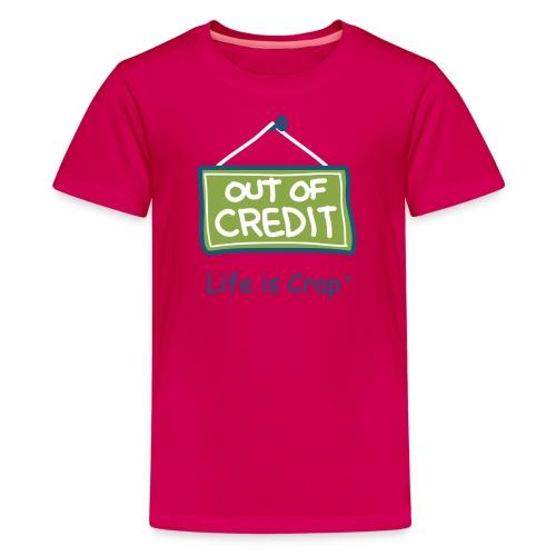 Out Of Credit - Kids T-shirt - Kids' Premium T-Shirt