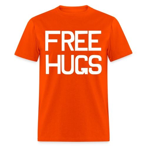 Free hugs Tshirt - Guy - Men's T-Shirt