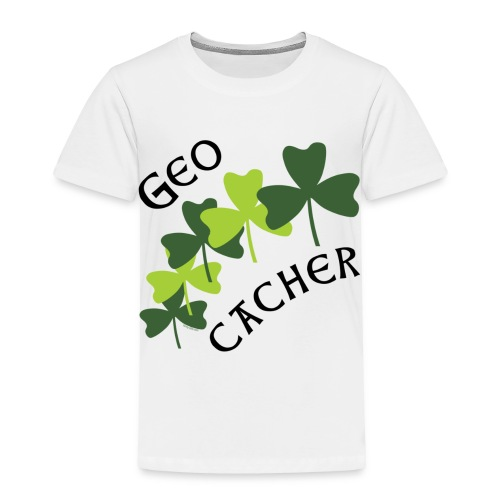 Geocacher Shamrocks - Toddler Premium T-Shirt
