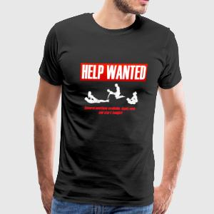 helpwanted T-Shirts - Men's Premium T-Shirt