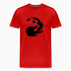 MTG Red Mana T-Shirts