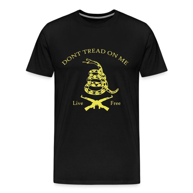 Dont Tread On Me - Live Free (Shirt) - Men's Premium T-Shirt