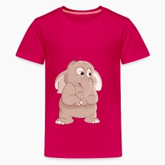 Elephant Cartoon T-Shirt