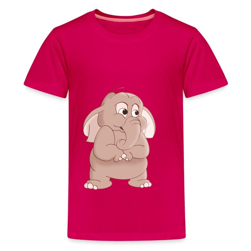 Elephant Cartoon T-Shirt T-Shirt