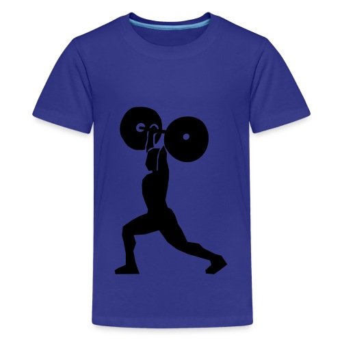 Kids Train Hard or Go Home - Kids' Premium T-Shirt