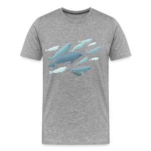 Beluga Whale Shirts Men's Beluga Shirts & Gifts - Men's Premium T-Shirt