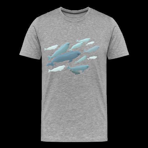 Beluga Whale Shirts Men's Beluga Shirts & Gifts - Men's Premium T-Shirt