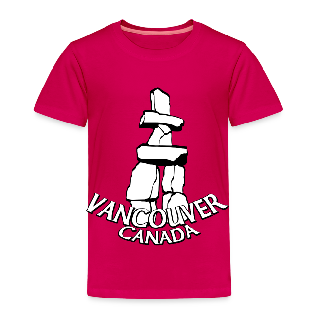 Vancouver T-shirt Toddler Vancouver Canada Shirt