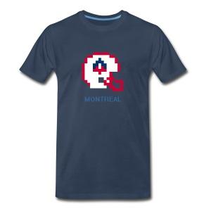 8-Bit Montreal (Male 3XL & 4XL) - Men's Premium T-Shirt