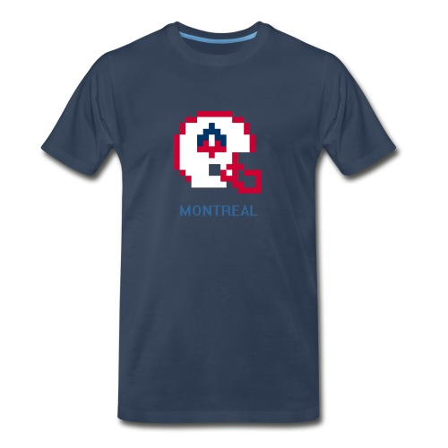 8-Bit Montreal (Male 3XL & 4XL) - Men's Premium T-Shirt