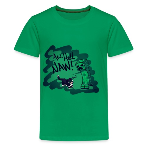 (KIDS) Aw Hell NAW! - Kids' Premium T-Shirt