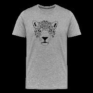 T-Shirts ~ Men's Premium T-Shirt ~ animal t-shirt jaguar cougar cat puma tiger panther leopard cheetah lion