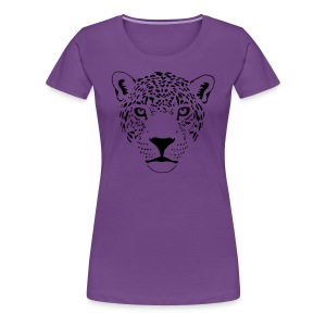 animal t-shirt jaguar cougar cat puma tiger panther leopard cheetah lion - Women's Premium T-Shirt