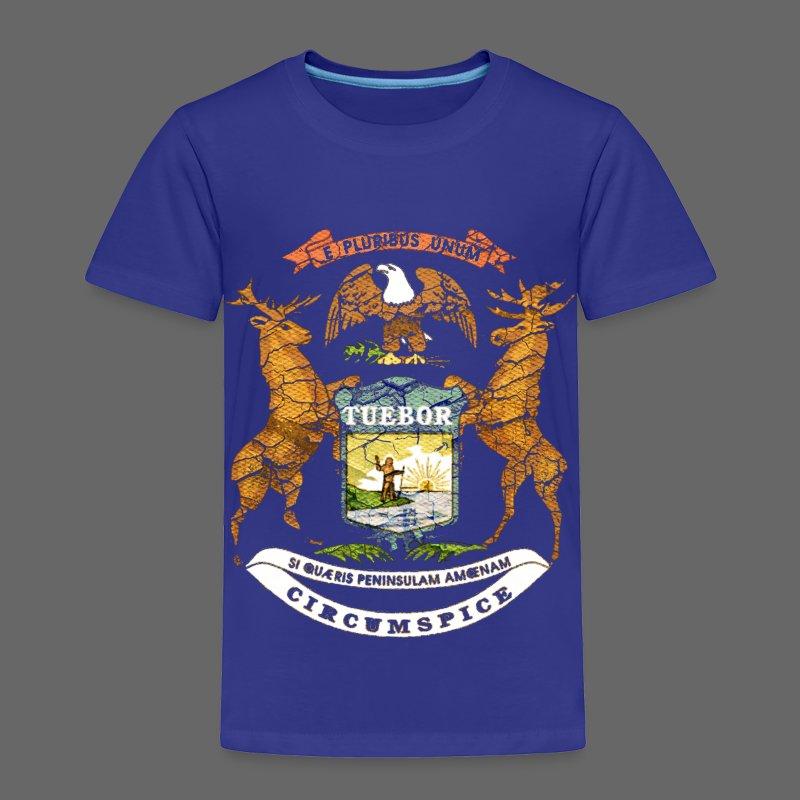 Si Quæris Peninsulam Amœnam Circumspice - Toddler Premium T-Shirt