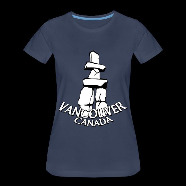 Vancouver T-shirt Women's Plus Size Vancouver Canada Shirt
